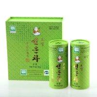 우전녹차선물세트 100g 유기농 보성햇녹차잎