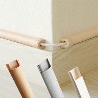 전선몰딩 사각 알루미늄 PVC 바닥 몰드 쫄대 케이블 선정리