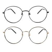 동그란 안경 청광 블루라이트 차단 시력보호 안경