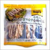 수지스 페퍼콘 닭가슴살 슬라이스 1kg