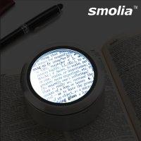 LED 확대경 고배율 노안 돋보기 독서용 루페