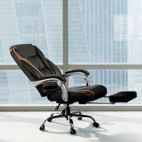 동서가구 리토네 중역 사무용 컴퓨터 의자 가죽 침대형 리클라이너 사무실 회의의자