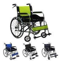 휠체어 경량 수동 접이식 휴대용/노인/장애인