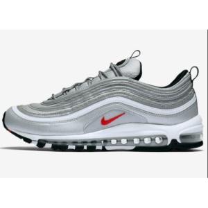 90a79fad96a 나이키 에어 맥스 OG 실버 블릿 884421-001 Nike Air Max 97 OG Silver Bullet