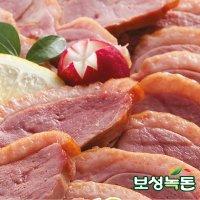 보성녹돈 완포 허브 유황 뽕잎 먹인 훈제오리