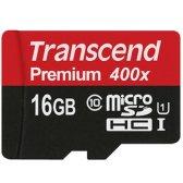 트랜센드 microSDHC Class10 Premium 400X UHS-I