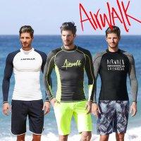 에어워크서프 남성래쉬가드세트 티셔츠