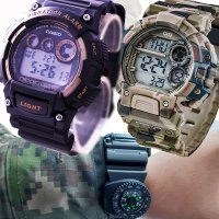 군인 전자 남자 친구 손목 스포츠 방수 알람 선물 시계