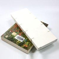 국산 도서 책 바코드 라벨키퍼 날개형키퍼 6x6cm 1000장