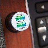 주파집 퀄컴 퀵차지3.0 듀얼 차량용 고속 충전기