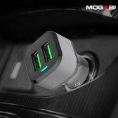 모가비 퀵차지 3.0 듀얼 고속 차량용충전기 MOG-024Q2