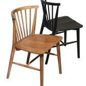 보니애가구 에클레어 고무나무 원목 식탁의자