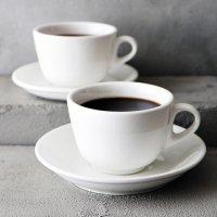 카페 화이트 커피잔 세트 라떼컵 카푸치노잔