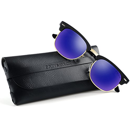 GREY JACK클래식 편사금융기관 마스터 하프 프레임 밀러 썬글라스 썬글라스 남성용 여성용 패션 안경