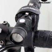 애몰라이트 AM1충전식 XM-L2 LED 자전거라이트 전조등 USB