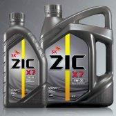 지크 엑스세븐 ZIC X7 엔진오일 4L