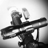 LED 자전거 강력줌 라이트