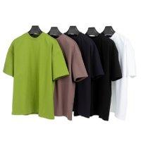 [에두아르도 자체제작][5팩 세트]오버핏 반팔 티셔츠 템테이션세트