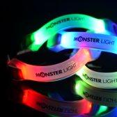 와이디인터내셔널 몬스터라이트 6in1 컬러 카멜레온 LED 암밴드 라이트 야간라이딩 러닝