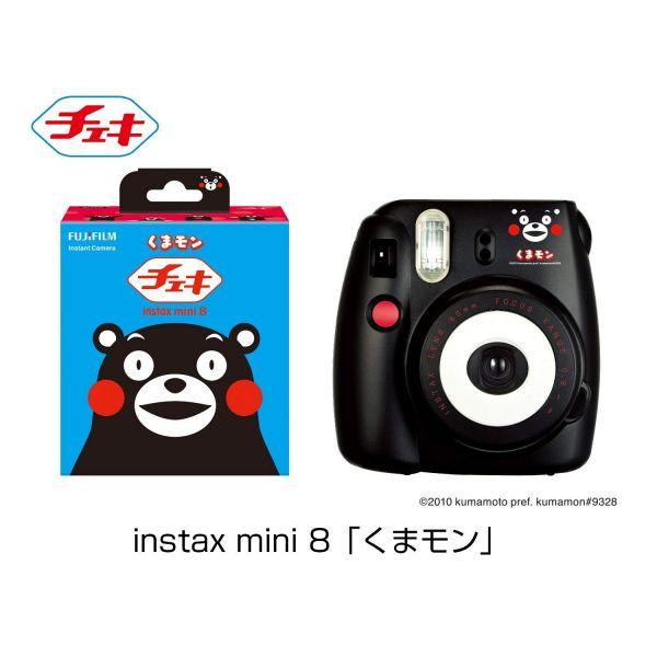 후지 필름 FUJIFILM 인스턴트 카메라 체키 instax mini 8 곰 몽 INS MINI 8 KUMAMON