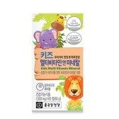 종근당건강 멀티비타민 앤 미네랄 블루베리맛 1500mg x 60정