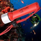 수중 1200LM XM-L T6 LED 다이빙 손전등 토치 램프 자전거 빛 방수