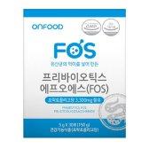 뉴트리바이오텍 온푸드 프리바이오틱스 FOS 5g x 30포