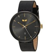 Vestal Roosevelt Italian Leather Quartz Stainless