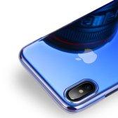 제로스킨 아이폰 X / 아이폰 XS용 그라데이션 젤리 투명 케이스