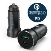 빅쏘 퀄컴 퀵차지 3.0 USB PD 고속 차량용 핸드폰 충전기