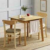 보니애가구 노블 고무나무 원목 2인 식탁세트