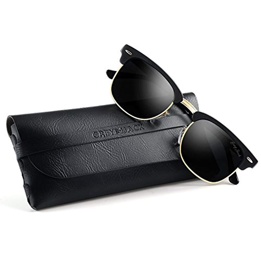 GREY JACK클래식 편사금융기관 마스터 하프 프레임 밀러 썬글라스 남성용 여성용 패션 안경