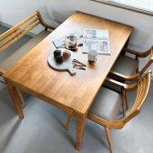 로포텐 마제스티 원목 4인용 테이블
