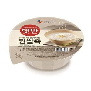 <b>CJ 햇반 흰쌀죽 270g x ..
