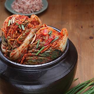 청정해남 화원농협 맛깔스런 새우젓 포기김치 서울경기도맛 (10kg)