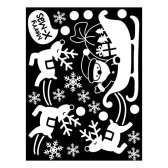 [Kmall]  크리스마스 겨울X-MAS 스티커 눈꽃썰매를타고 GDT-818