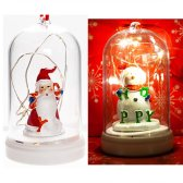 6000크리스마스LED램프돔(6개묶음판매) 트리 성탄절 불빛등 썰매 크리스마스트리