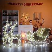 대형 LED 전구장식 골드 사슴썰매 /크리스마스장식
