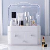 투명한 뚜껑이 수납장 화장품/소품 정리 수납함