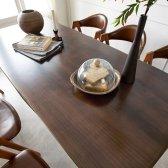 노르웨이숲 우드슬랩 식탁 스타벅스 카페 테이블 1600