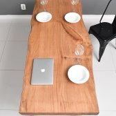 아르네스튜디오 라센 우드슬랩 식탁 테이블 솔리드 1800