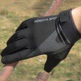 1 쌍 자전거 장갑 가득 차있는 손가락 Touchscreen 남자 여자 MTB 통기성 여름 ALS88