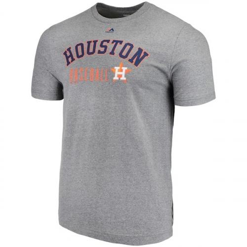 [미국]2991133 Mens Houston Astros Majestic Heathered Gray Open Opportunity Domestic T-Shirt