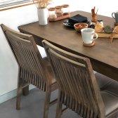 로포텐 마크 원목 4인용 식탁테이블