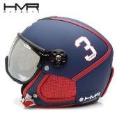 일체형헬멧 1819 HMR H3 432 BLUE/RED 변색렌즈