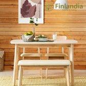 핀란디아 데니스 원목 2인 식탁세트