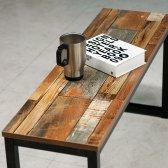 빈티지 벤치 의자 카페 식탁 레트로 체어
