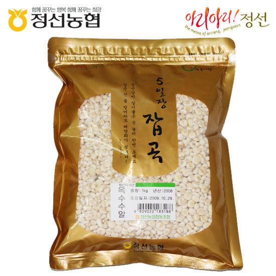 [정선농협] 5일장잡곡 옥수수알1kg