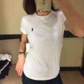 폴로랄프로렌 여성 포니로고 라운드넥 반팔 티셔츠 컬러