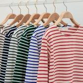 세인 코튼 단가라 기본핏 티셔츠